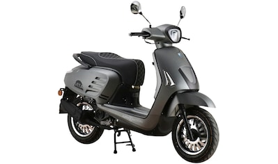 Alpha Motors Mofaroller »Vita«, 50 cm³, 25 km/h, Euro 5, 2,72 PS, mattgrau kaufen