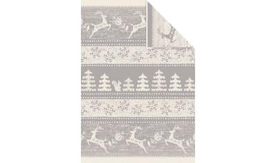 Wolldecke »Jacquard Decke Aspen«, IBENA kaufen