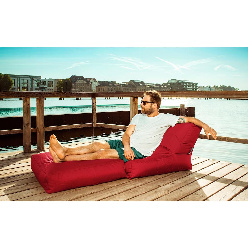 Magma Heimtex Sitzsack »SCUBA Twist«, klappbarer SITTING POINT mit Kissen, für Indoor und Outdoor