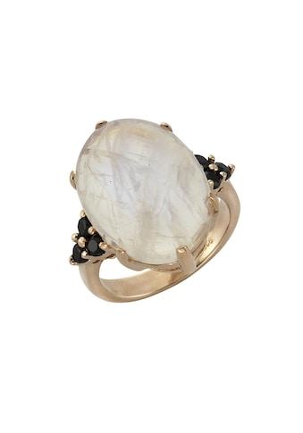 Zeeme Ring »925/ -  Sterling Silber Mondstein und Spinell« kaufen