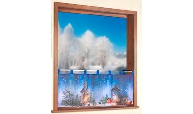 Weckbrodt Scheibengardine »Weihnachtslaterne«, Voile kaufen