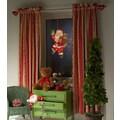KONSTSMIDE Fensterbild, LED Fensterbild, Weihnachtsmann
