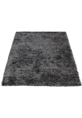 Bruno Banani Hochflor-Teppich »Alga«, rechteckig, 40 mm Höhe, Wohnzimmer kaufen