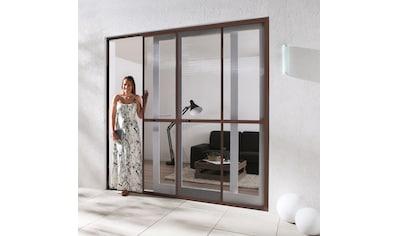 HECHT Insektenschutz - Tür »COMFORT«, braun/anthrazit, BxH: 240x240 cm kaufen