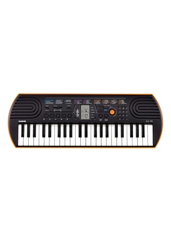 "CASIO Keyboard ""Mini - Keyboard SA - 76"" kaufen"