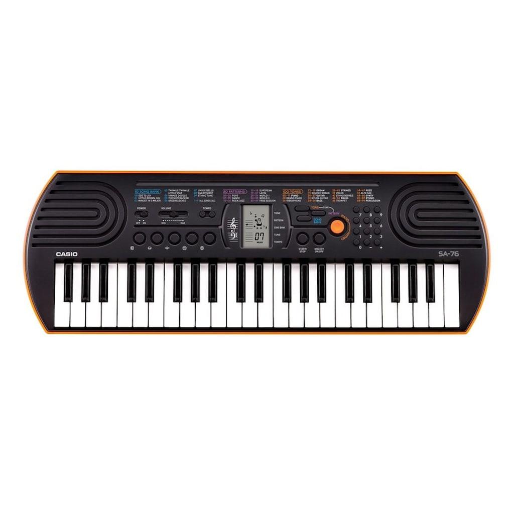 CASIO Keyboard »Mini-Keyboard SA-76«