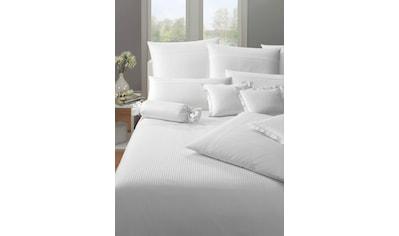 Elegante Bettwäsche »Milano«, mit feinen Streifen kaufen