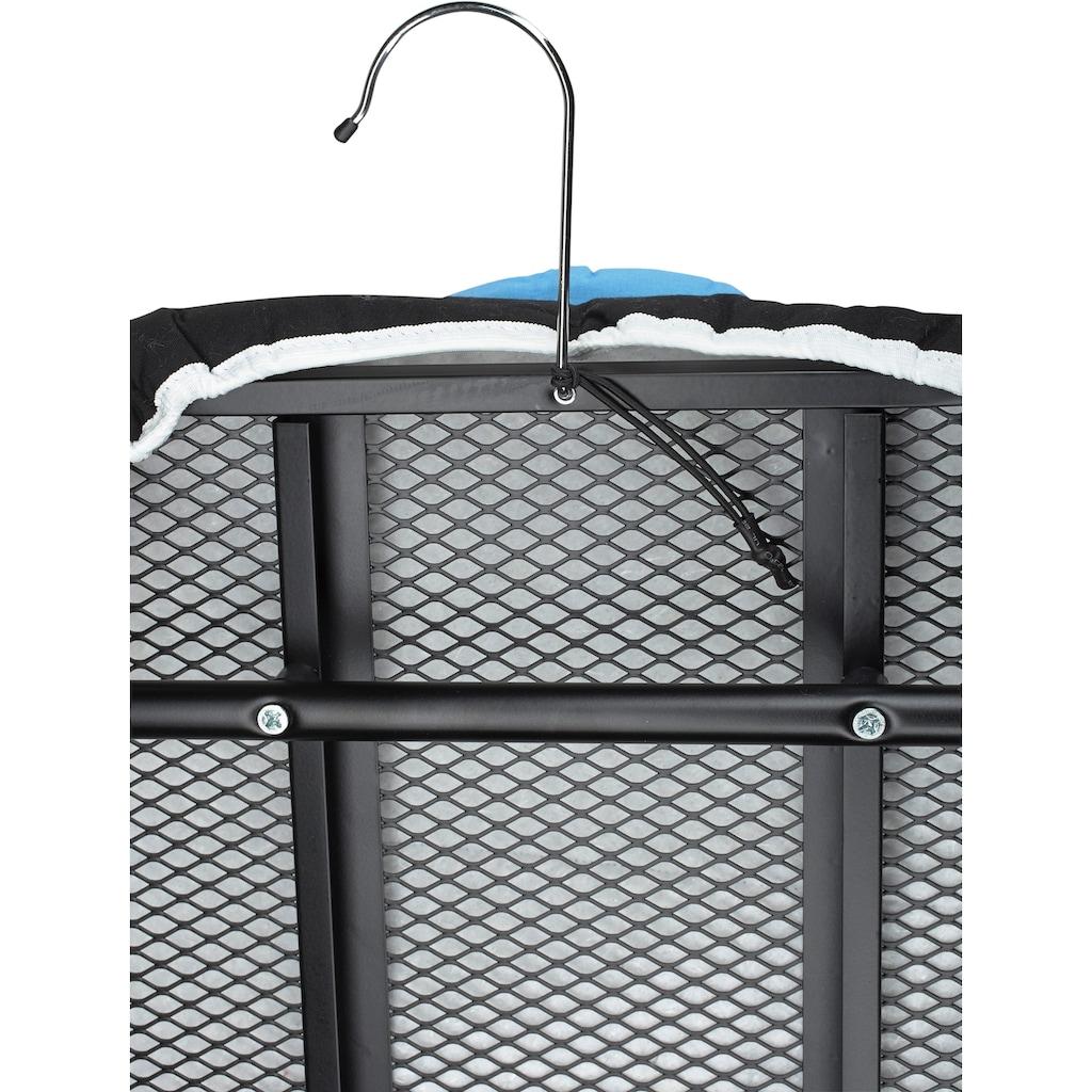 knittax Tischbügelbrett »CBT 10«, Bügelfläche 120 cmx40 cm, mit Haken zum Aufhängen