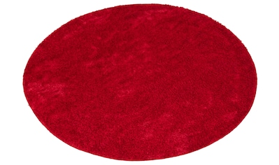 Hochflor - Teppich, »Mikro Soft Ideal«, my home, rund, Höhe 30 mm, maschinell gewebt kaufen