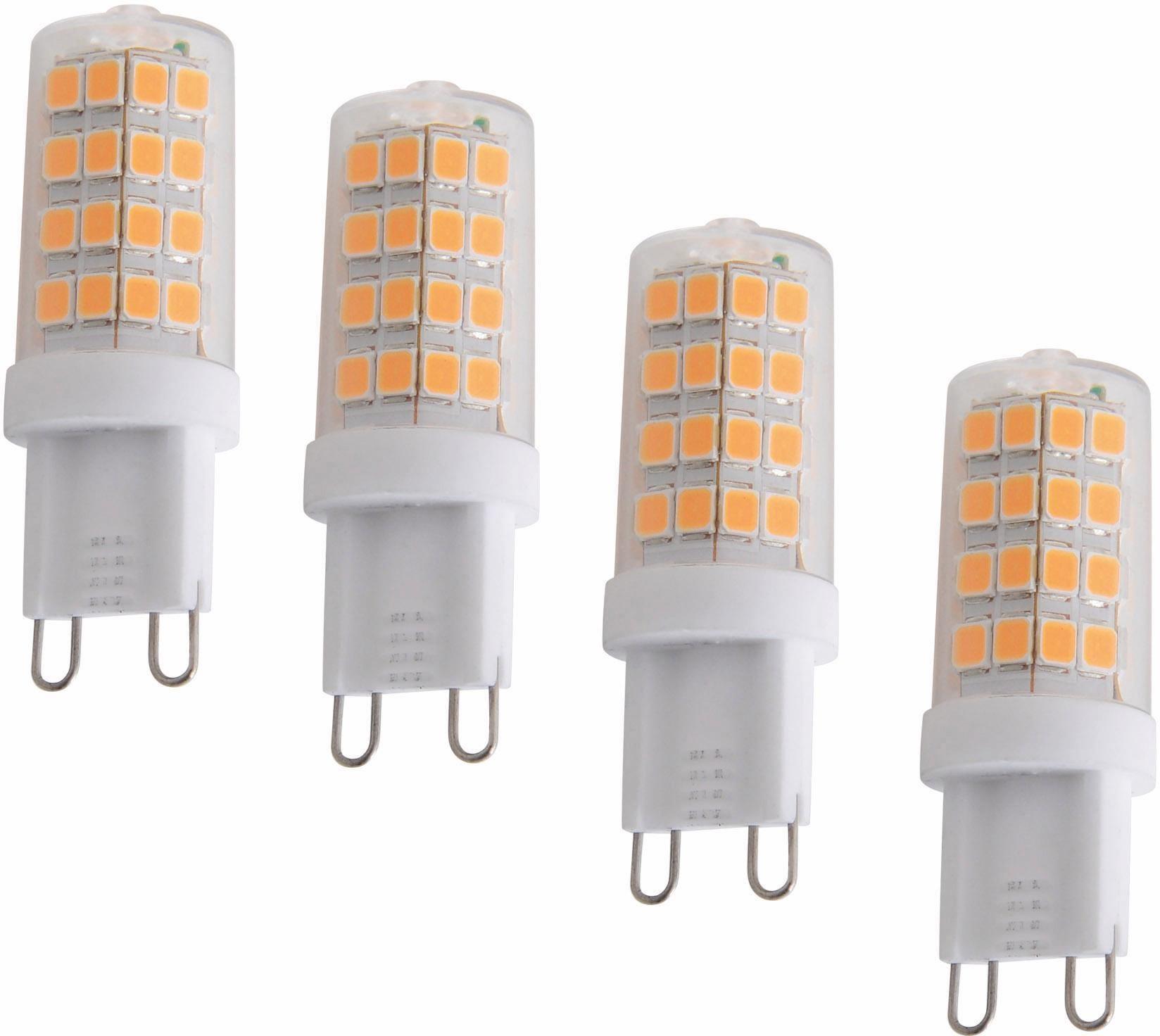 Näve LED Leuchtmittel, 4er Set, »G9«