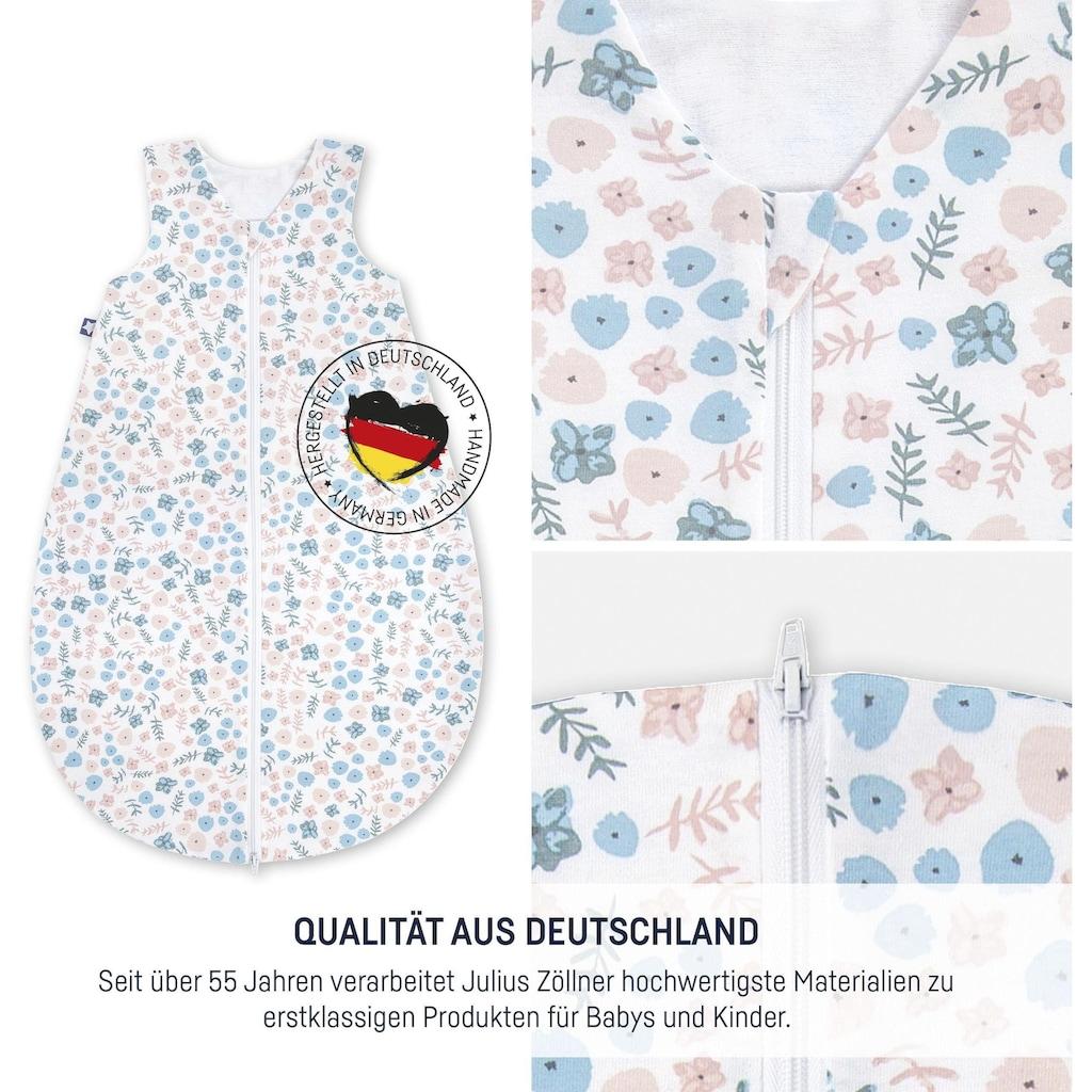 Julius Zöllner Babyschlafsack »Blümchen«, (1 tlg.)