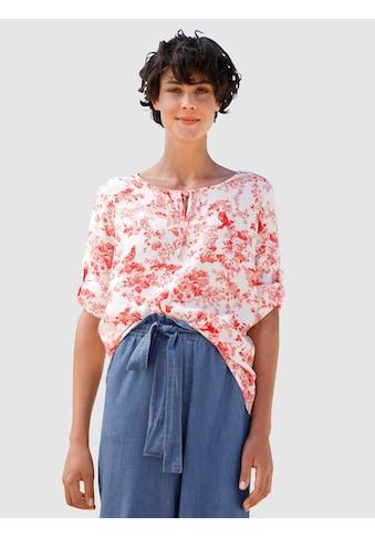 Dress In Bluse mit verspieltem Druck kaufen