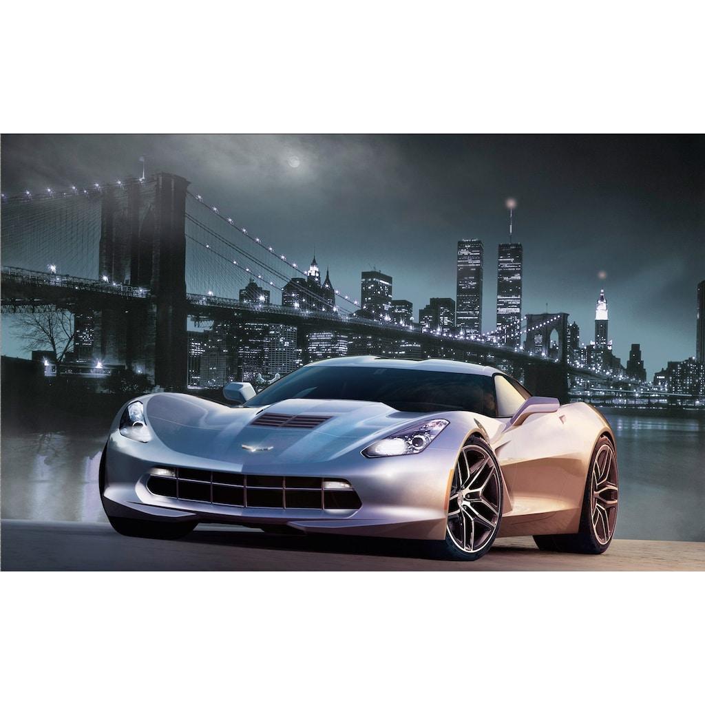 Papermoon Fototapete »Manhatten Car I«