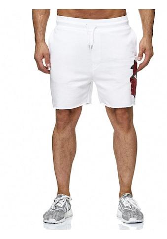 RedBridge Shorts »Anaheim«, mit Rosen-Motiv kaufen