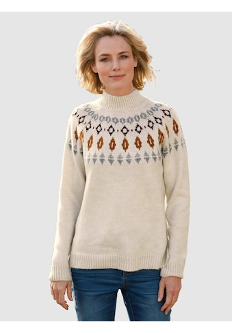 Dress In Norwegerpullover, mit Norwegermuster kaufen