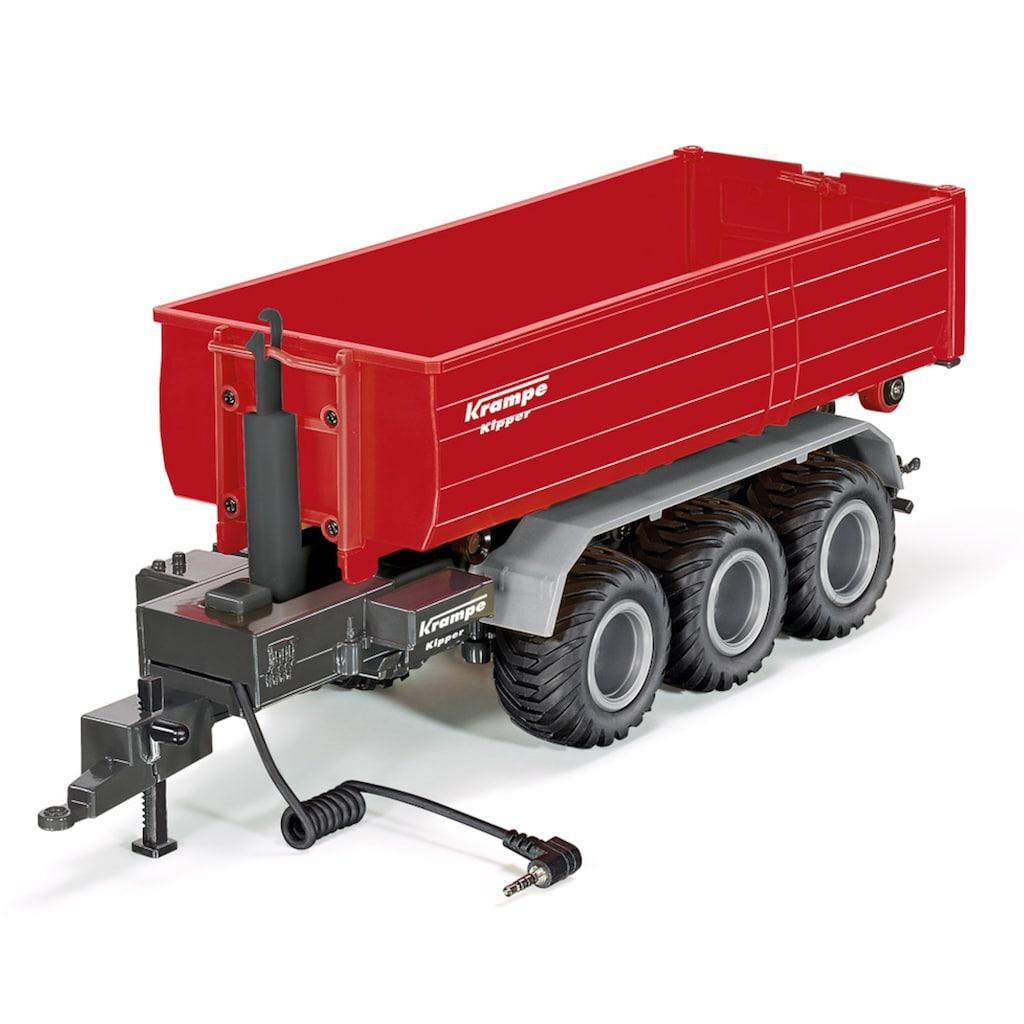 Siku Spielzeug-Traktor »SIKU Control, 3-Achs-Hakenliftfahrgestell mit Mulde«