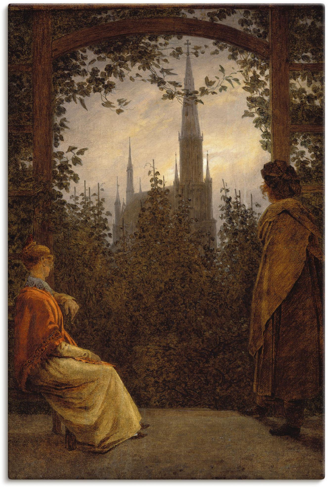 Artland Wandbild Gartenlaube. 1818., Garten, (1 St.) günstig online kaufen