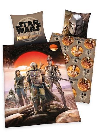Star Wars Wendebettwäsche »Star Wars - The Madalorian«, mit tollem Star Wars-Motiv kaufen