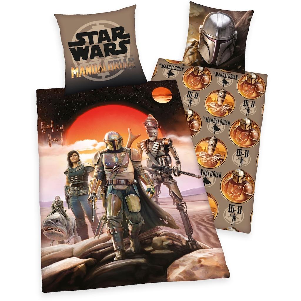 Star Wars Wendebettwäsche »Star Wars - The Madalorian«, mit tollem Star Wars-Motiv