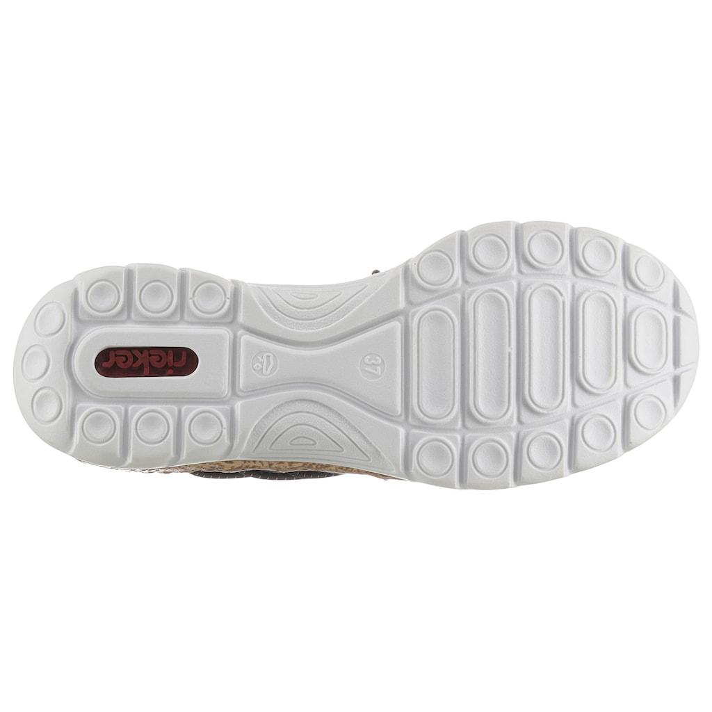 Rieker Slip-On Sneaker, mit Gummizügen