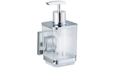 WENKO Seifenspender »Vacuum - Loc Quadro«, Befestigen ohne bohren kaufen