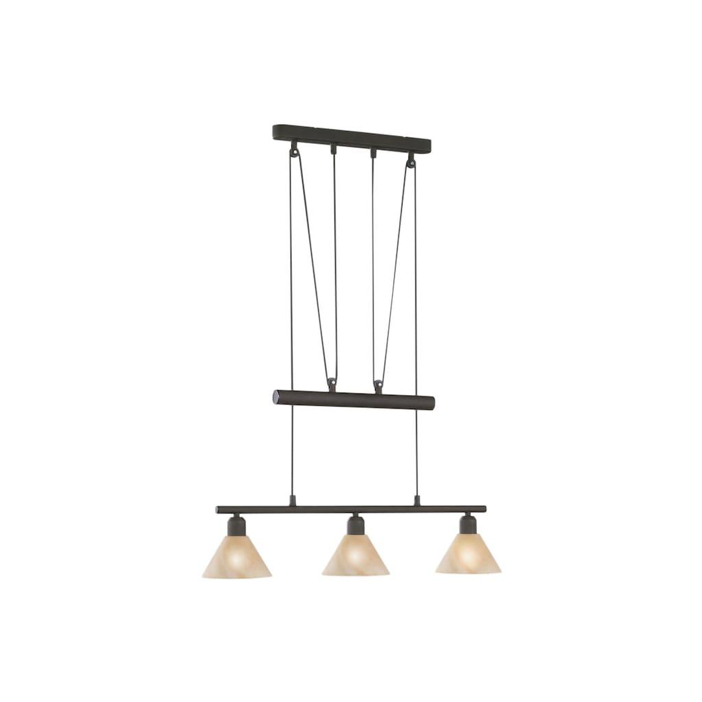 TRIO Leuchten Pendelleuchte, E14, Hängeleuchte, Hängelampe
