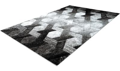 calo-deluxe Teppich »Astro 301«, rechteckig, 14 mm Höhe, Kurzflor, Wohnzimmer kaufen