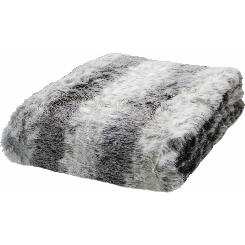 Wohndecke »Fake Fur«, TOM TAILOR