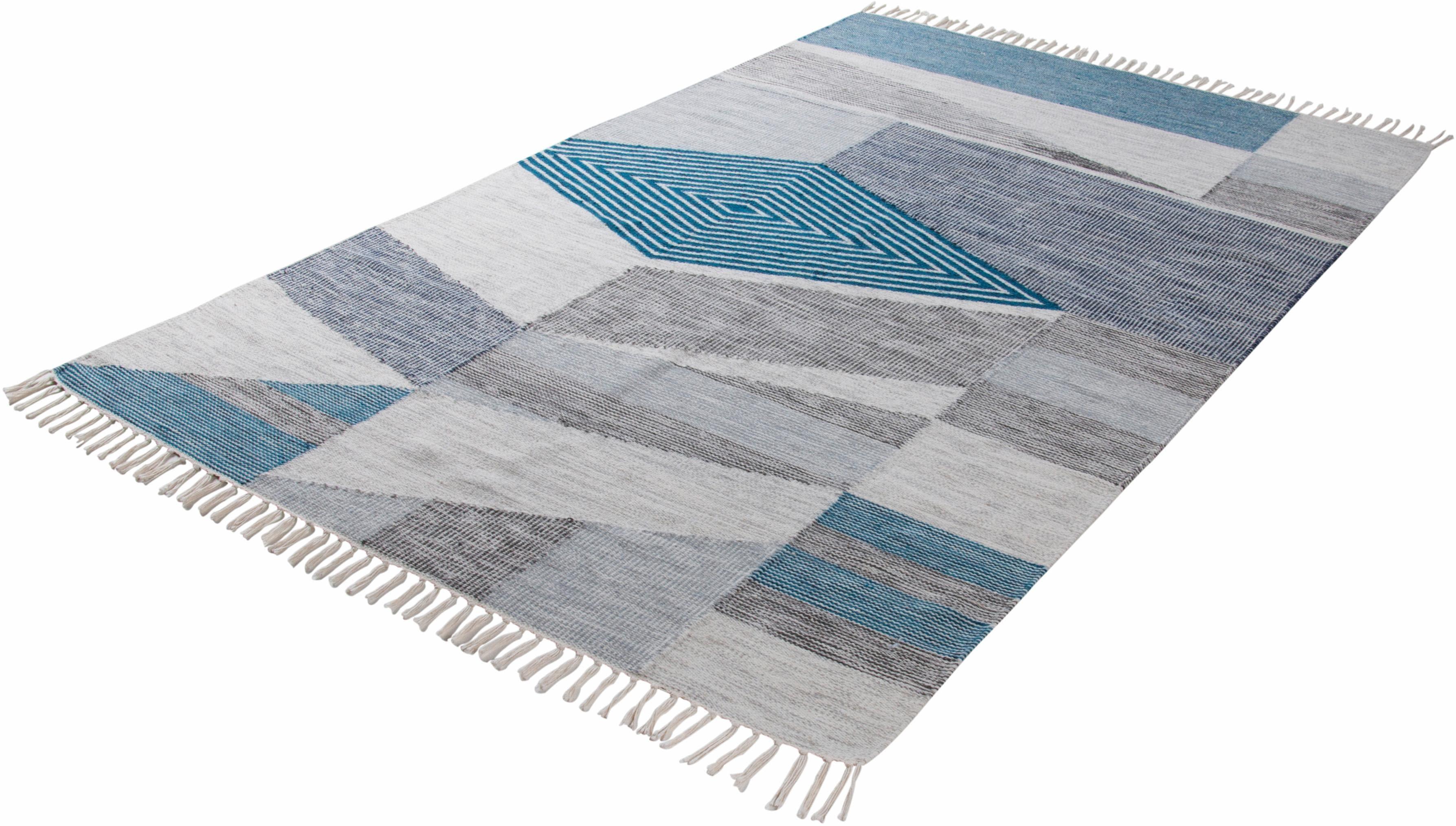 Orientteppich Modern Kelim TOM TAILOR rechteckig Höhe 5 mm handgewebt
