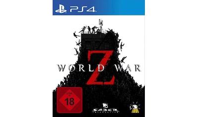 World War Z PlayStation 4 kaufen