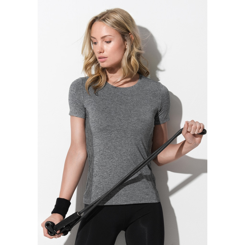 Stedman T-Shirt »Recycled Run«, aus recyceltem Material