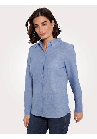 Mona Hemdbluse, aus Leinen-Baumwoll Qualität kaufen