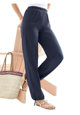 Classic Basics Hose mit Regulierungsband am Saum kaufen