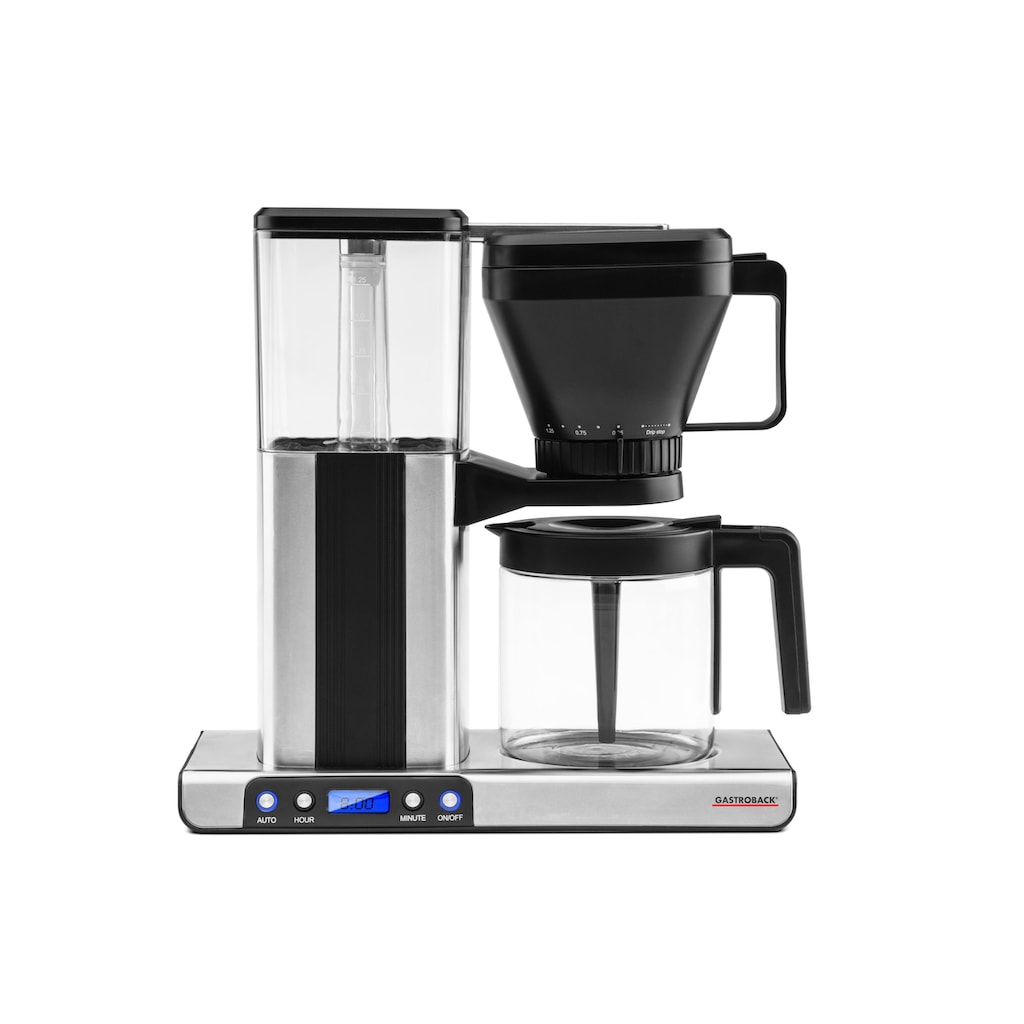 Gastroback Filterkaffeemaschine »Design Brew Advanced 42706«, Papierfilter, 1x4