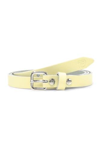 TOM TAILOR Denim Ledergürtel »Pastellfarbener Taillengürtel aus Leder« kaufen