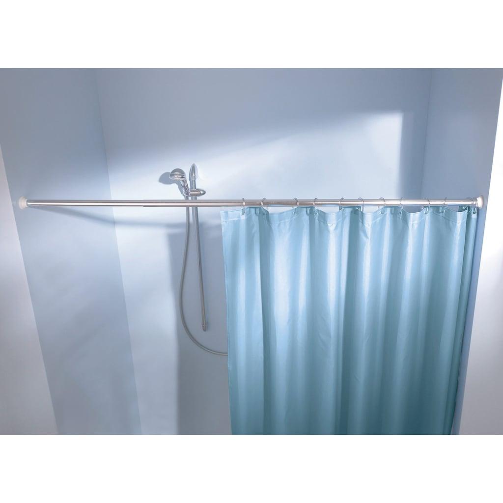 Kleine Wolke Federstange »Duschvorhangstange«, ausziehbar, für Duschvorhänge, Länge Breite 125-220 cm