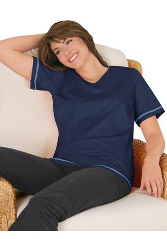 Lady Shirt mit Seitenschlitze kaufen