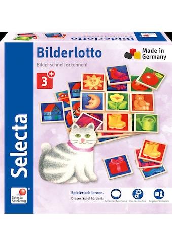 Selecta Spiel »Bilderlotto«, aus Holz, Made in Germany kaufen