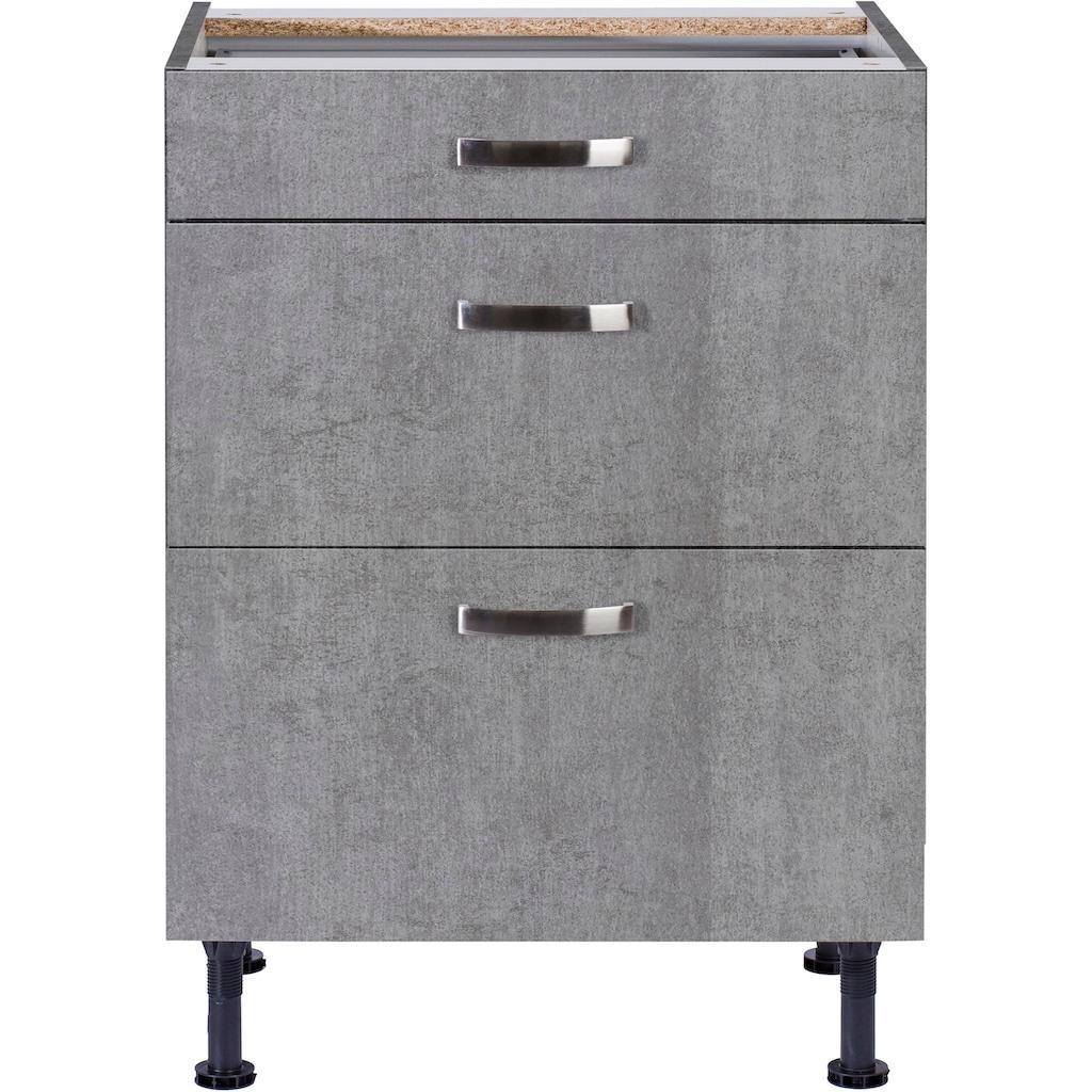 OPTIFIT Unterschrank »Cara«, Breite 60 cm, mit Vollauszügen und Soft-Close-Funktion