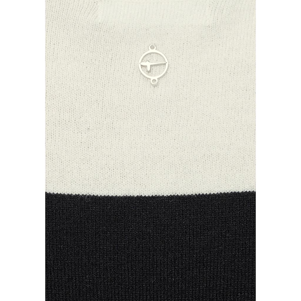 Tamaris Strickkleid, mit Blockstreifen