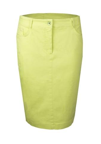 bianca Jeansrock »JONA«, in der angesagten Trendfarbe kaufen