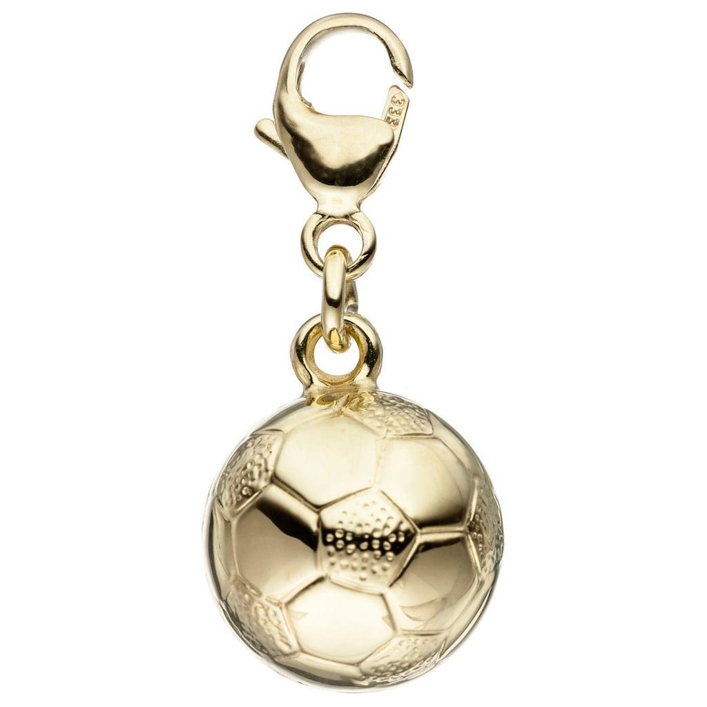 JOBO Charm-Einhänger »Fußball«, 333 Gold