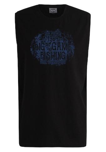 AHORN SPORTSWEAR Tanktop mit bequemem Rundhals »BIG FISHING« kaufen