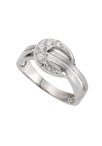 Zeeme Ring »925/ -  Sterling Silber Zirkonia weiß« kaufen