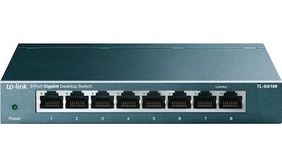 TP-Link Netzwerk-Switch »TL-SG108 8-Port Gigabit Desktop Switch« kaufen