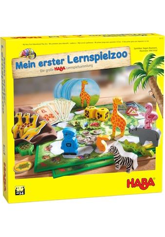 Haba Spielesammlung »Mein erster Lernspielzoo«, Made in Germany kaufen
