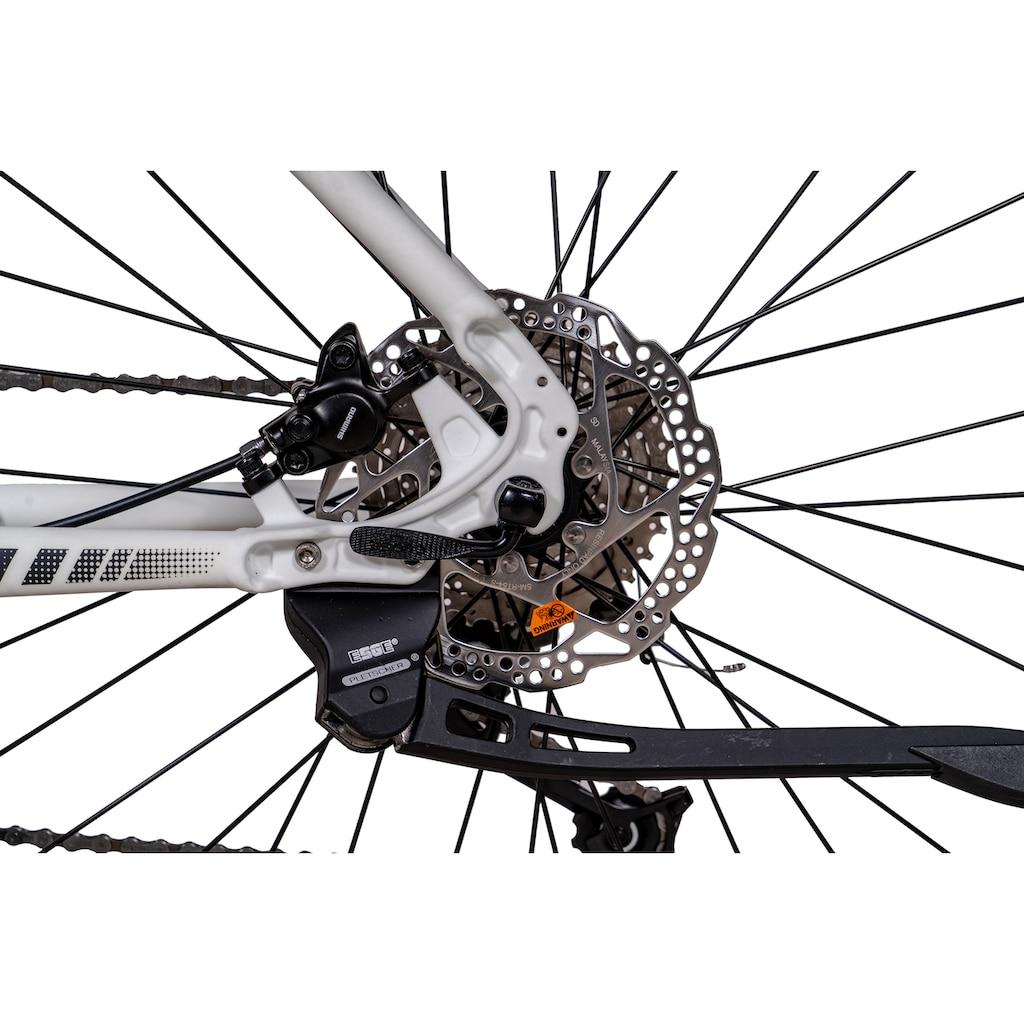 Chrisson E-Bike »E-MOUNTER 1.0«, 9 Gang, Shimano, Acera RD-M3000-SGS, Mittelmotor 250 W