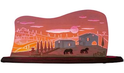 Weigla LED Dekolicht »Toskana Sonne«, 1 St., Neutralweiß, beidseitiges Motiv/ Motiv... kaufen