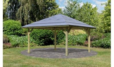 Karibu Holzpavillon »Holm 1«, BxT: 431x431 cm kaufen