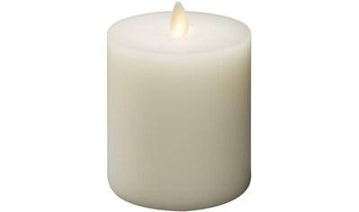 KONSTSMIDE LED-Kerze, LED Echtwachskerze, handgegossen cremeweiß, mit 3D Flamme, per... kaufen